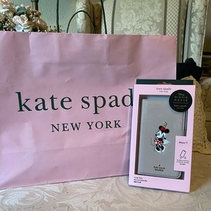 Kate Spade Minnie Mouse Folio Case for iPhone 11